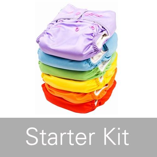 Nappy Starter Kit Laundry Box