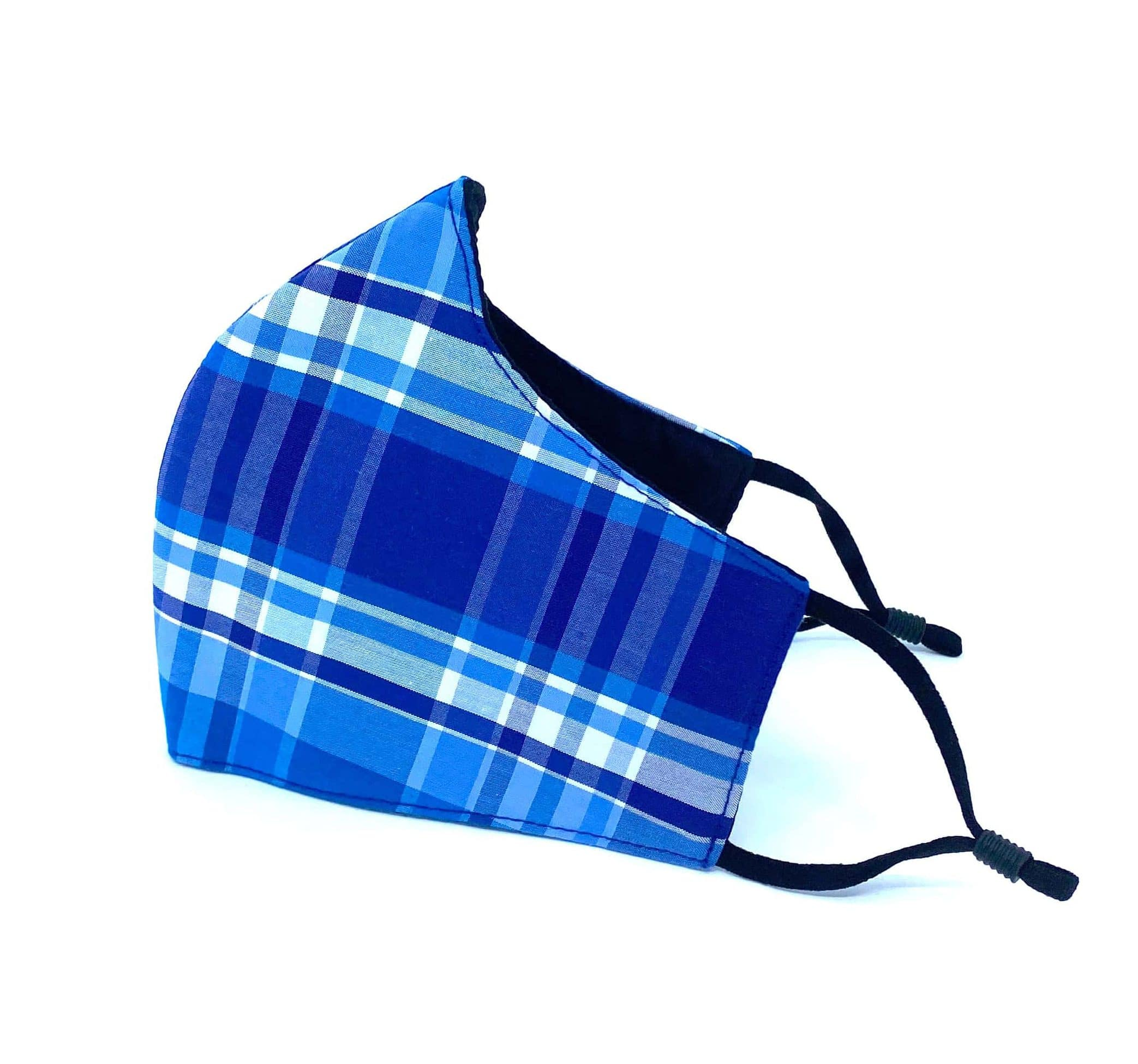 Blue Tartan Reusable Face mask