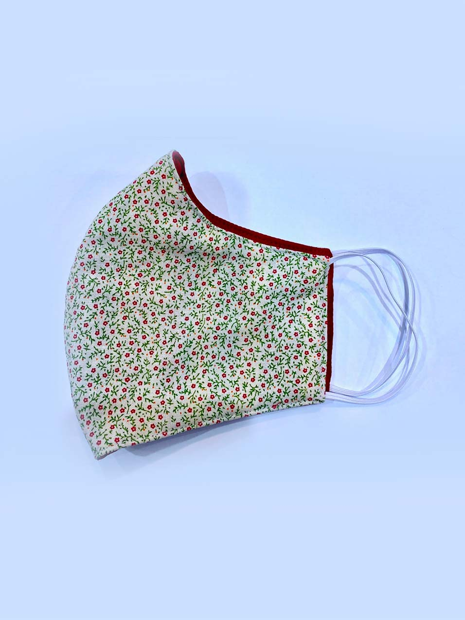 Floral pattern face masks for COVID-19