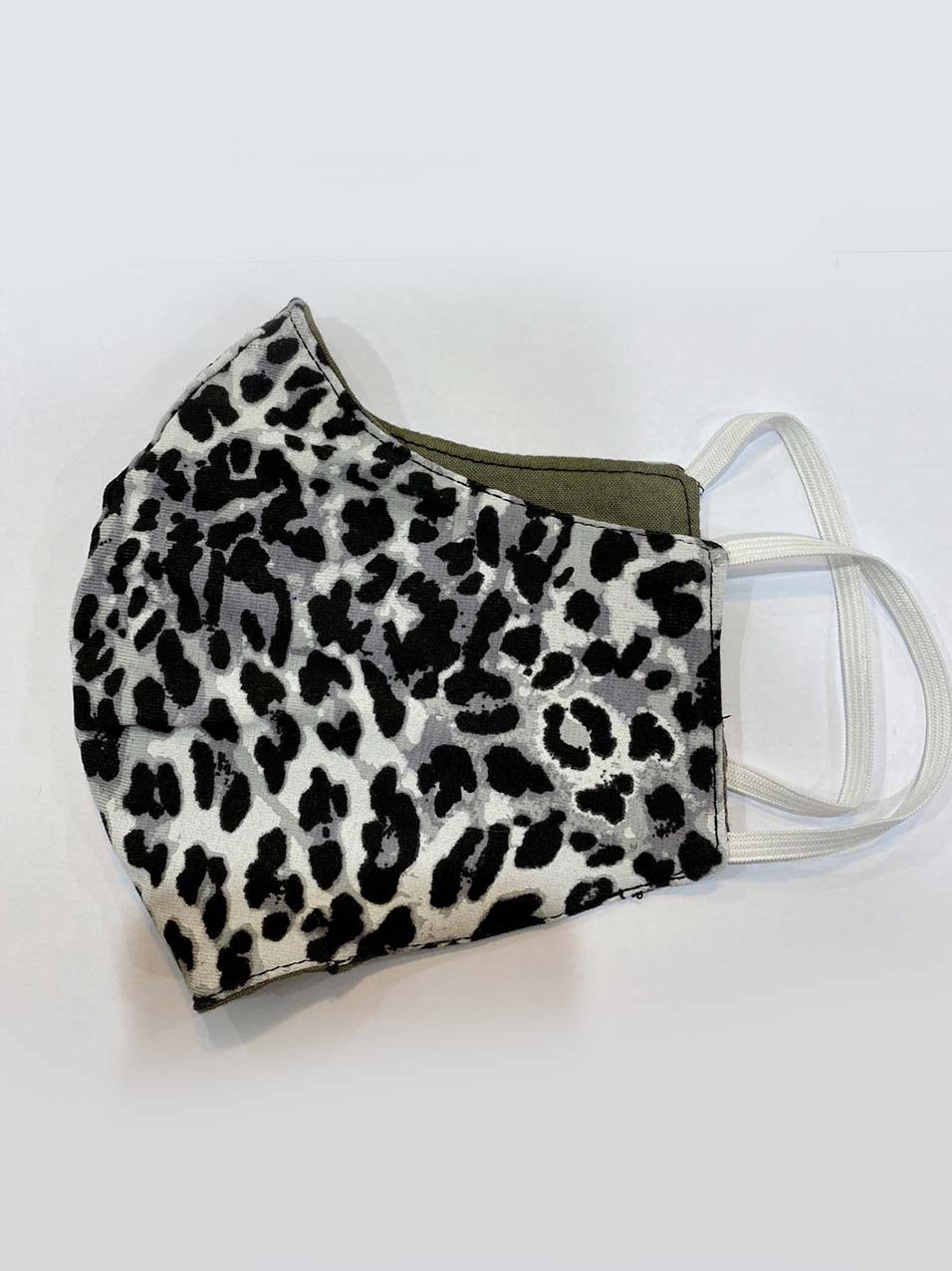 Leopard patter face mask for COVID-19