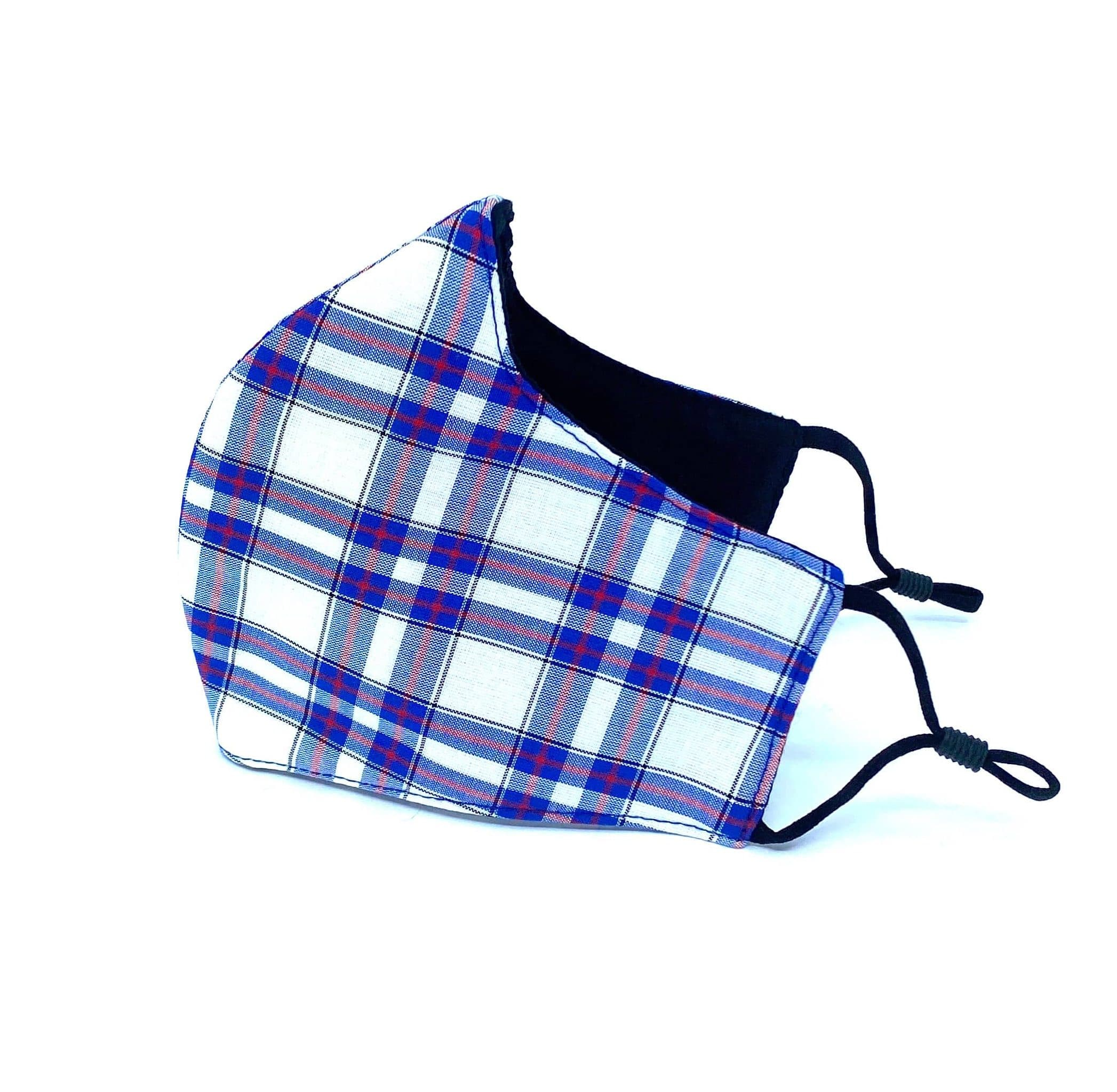 Striped Tartan Reusable Face Mask